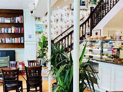 The Vanilla Pod Cafe Patisserie, High Wycombe, Bucks