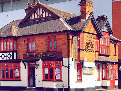 The Rose & Crown Pub, High Wycombe