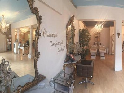 Interior of Chimmerique Salon in High Wycombe