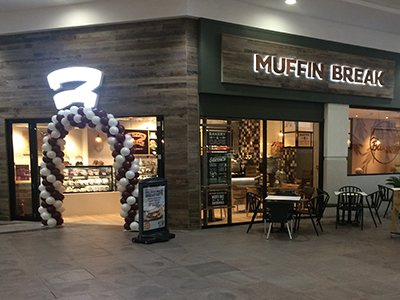 Muffin Break coffee shop in Eden High Wycombe